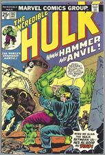 The Incredible Hulk #182 (1968) - 3rd appearance of Wolverine (X-Men) VF-/7.5