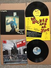 """THE DICTATORS 'Search and Destroy' 12"""" + PIGBAG 'Dr Heckle and Mr Jive' LP MC5"""
