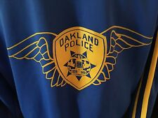 VTG Action Designs Oakland Police Motorcycle Training School Track Jacket