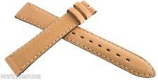 Genuine Universal Geneve NOS 17x14mm Beige Leather Watch Band Strap