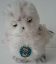 "Snowy Owl #31-0199 Nature Babies 7"" Plush Stuffed Toy Dakin Tagged Vintage 1981"