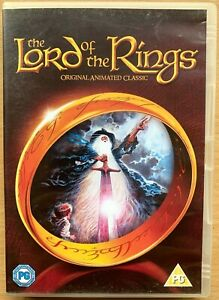 Lord of the Rings DVD 1978 Ralph Bakshi / J.R.R. Tolkien Animated Classic