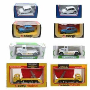 Corgi Models 94145 Mini 275 Austin Metro Volvo Racing Truck 1119 Mercedes-Benz