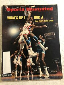 1974 Sports Illustrated NEW JERSEY Nets JULIUS ERVING DR J His First Cover ABA