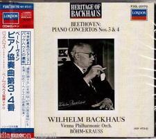 Beethoven: Piano Concertos N.3 & 4 / Wilhelm Backhaus - CD London Japan