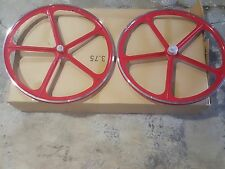 "MOTORIZED BICYCLE 700C"" WHEELS SET WITH AXLES SET AND 22T FREE WHEEL INCLUDE"