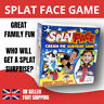 SPLAT FACE GAME FAMILY FUN CREAM PIE FACE ACTIVITY TOY KIDS CHILDRENs PARTY GAME