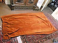Antique Victorian Drapes Portiere Curtain Velvet Rust 1 Panel #2