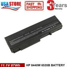 6/9 Cell Laptop Battery for HP ProBook 6440b 6445b 6540b 6545b 6550b 6555b