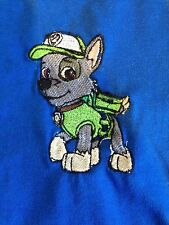 PAW PATROL , ROCKY, CUSTOM EMBROIDERED TODDLER AND YOUTH SHIRTS