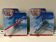 Matchbox 2019 Skybusters Airbus Helicopter H130  and Robinson R44 Raven II NEW