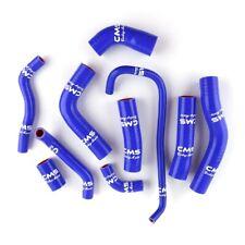 Fit 2006-2018 Yamaha YZF R6 YZFR6 Silicone Radiator Coolant Hose Tube Kit Blue