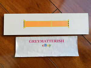 SEALED 100% Genuine*CANARY YELLOW *Apple Sport Loop Watch band 42/44mm MV9K2AM/A