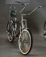 "NEW  20"" Lowrider Beach Cruiser Complete W/ 68 spoke Bike Bicycle Black"