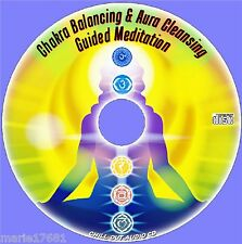 GUIDED MEDITATION CHAKRA ENERGY ALIGNMENT BALANCING & AURA CLEANSING CD NEW