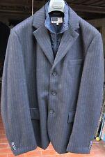 Blazer giacca cappotto Conbipel - con imbottitura sfoderabile - Tg. 52 -  Grigio 99e5d5f0201