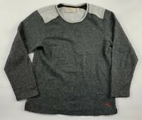 Tommy Bahama Sweatshirt Mens M Gray Crew Neck Long Sleeve Stretch Lightweight