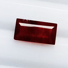 1.63CT GORGEOUS FINE QUALITY NATURAL  HOT RED ANDESINE LOOSE GEMSTONE.