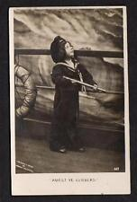 "1906 RPPC CHILD IN SAILOR SUIT*""AVAST YE LUBBERS""*COPYRIGHT ROBERT McCRUM*#407"
