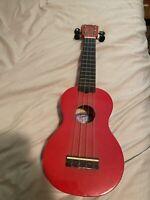 Vintage Mahalo Nubone Ukulele 4 Strings U30G/RD Bright Red