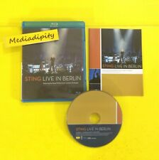 STING Live in Berlin 2010 (Royal Philharmonic Concert Orchestra) BLU-RAY