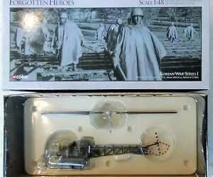 Corgi US51902 Bell H13 Helicopter US Army Medical Corps New 1/48 Korean War