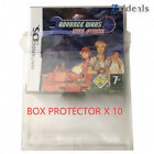 Box Protector Sleeve NDS PAL Version Games Only Custom Made Clear Plastic Cases