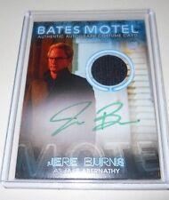 Bates Motel San Diego Comic-Con JERE BURNS  Autograph Costume Trading Card
