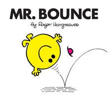 MR BOUNCE - Vol 22 - Mr Men Story Book - Mr Men Library - NEW