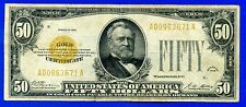 --FR-2404  1928 $50 (( Gold Certificate )) # A00963671A