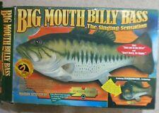 Big Mouth Billy Bass Singing Fish New