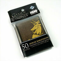 Game of Thrones: House Baratheon Card Sleeves x50 - FFG Supply HBO04 THG