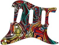 Stratocaster Pickguard Custom Fender SSS 11 Hole Guitar Pick Guard Abstract 15
