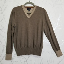 Banana Republic Umber Brown Lightweight Sweater | Women's L | Extra Fine Merino