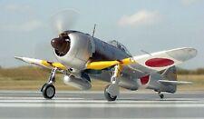 Nakajima Ki-44 Shōki Fighter Aircraft Mahogany Kiln Dry Wood Model Large New