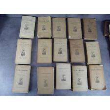 Important lot de 15 livres aux célèbres éditions Lemerre écrivains du purgatoire