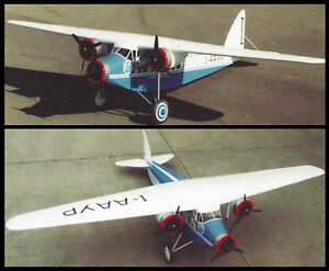 Giant 1/10 Scale Savoia Marchetti S.71 Plans, Templates & Instructions 80ws