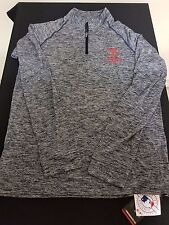New Men's Under Armour Texas Rangers MLB 1/4 Zip Top Style 1287183-410 Size M