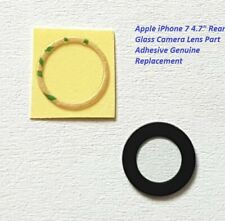"Apple iPhone 7 4.7"" Rear Camera Glass Lens Part Adhesive Genuine Replacement UK"