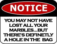 """/""""Notice Bar Phone Fees/"""" 11.5 inch by 9 inch Laminated Funny Sign"""