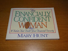 """The Financially Confident Woman by Mary Hunt (1997, Paperback) Small 4.5"""" x 6"""""""