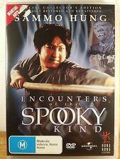 Encounters of the Spooky Kind (Sammo Hung) DVD - AUS Region 4 - RARE Movie !!