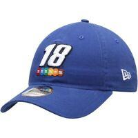 New Era Kyle Busch Royal Enzyme Washed 9TWENTY Adjustable Hat