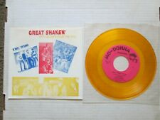 """The Who, Yardbirds, """"Great Shakes"""" yellow vinyl promo only 10 track jingle EP"""