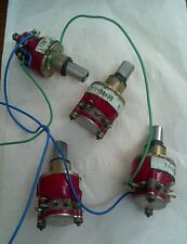 LOT 0F 4 Grayhill Rotary Switch 10 Positions 81073