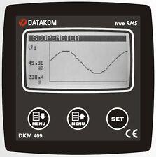 DATAKOM DKM-409 Network Analyser Multimeter Panel (3 Phase) _
