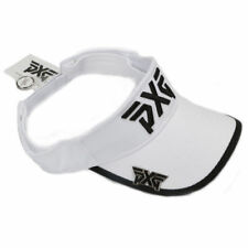 PXG Golf Cap Hat Sport Visor Adjustable with Magnetic Ball Marker White