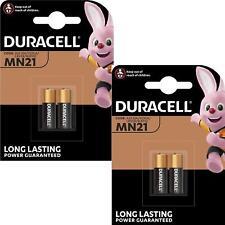 4 x Duracell MN21 A23 12V Security Alkaline Battery 23A LRV08 Expiry 2024