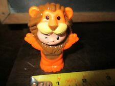 Fisher Price Little People Fun Park Amusement Circus Lion Costume Mascot boy man