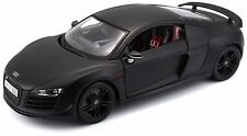 Maisto 1:18 Audi R8 GT Black Diecast Model Racing Car Vehicle Toy NEW IN BOX